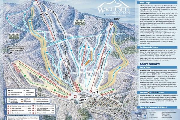 2020-21 Wachusett Trail Map