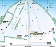 1999-00 Ski Ward Trail Map