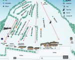 2016-17 Ski Ward Trail Map