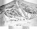 1963-64 Black Mountain Trail Map