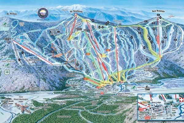 2018-19 Bretton Woods Trail Map