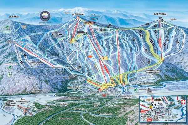 2020-21 Bretton Woods Trail Map