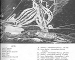 1963-64 Cannon Mountain Trail Map