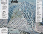 2001-02 Cannon Mountain Trail Map