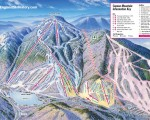 2007-08 Cannon Mountain Trail Map