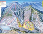 2009-10 Cannon Mountain Trail Map