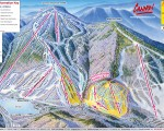 2013-14 Cannon Mountain Trail Map
