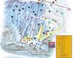 2000-01 Cranmore Trail Map
