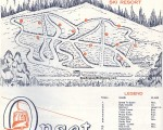 1970-71 Onset Trail Map
