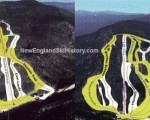 1999-00 Dartmouth Skiway Trail Map