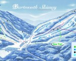 2004-05 Dartmouth Skiway Trail Map