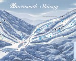 2012-13 Dartmouth Skiway Trail Map