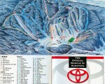 1994-95 Gunstock Trail Map