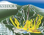 2009-10 Gunstock trail map