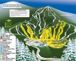 2014-15 Gunstock trail map