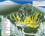 2016-17 Gunstock Trail Map