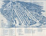 1980-81 Loon Mountain Trail Map
