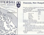 1970-71 Mittersill Trail Map