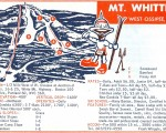 1967-68 Mt. Whittier Trail Map