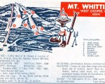 1969-70 Mt. Whittier trail map