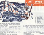 1970-71 Mt. Whittier Trail Map
