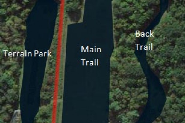 2017-18 Storrs Hill Trail Map