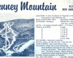 1964-65 Tenney Mountain Trail Map
