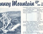 1967-68 Tenney Mountain Trail Map
