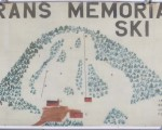 1984-85 Franklin Veterans Memorial Ski Area Trail Map