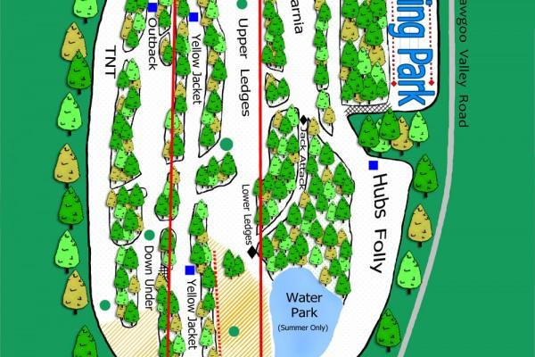 2017-18 Yawgoo Valley Trail Map