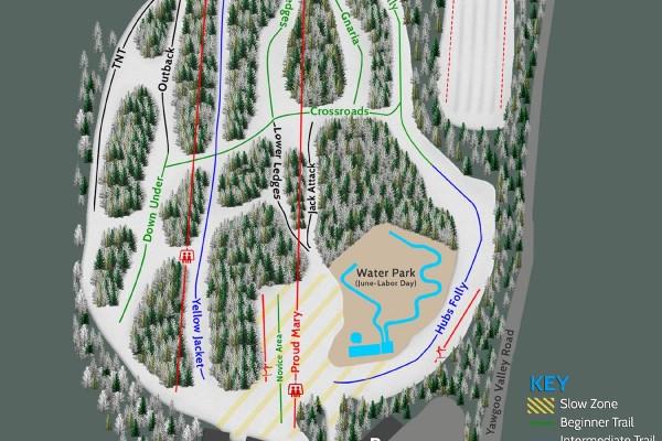 2018-19 Yawgoo Valley Trail Map