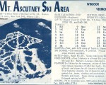 1964-65 Mt. Ascutney Trail Map