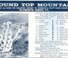 1967-68 Roundtop Mountain Trail Map