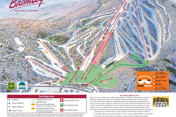 2019-20 Bromley Trail Map