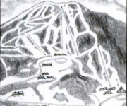 1984-85 Burke trail map