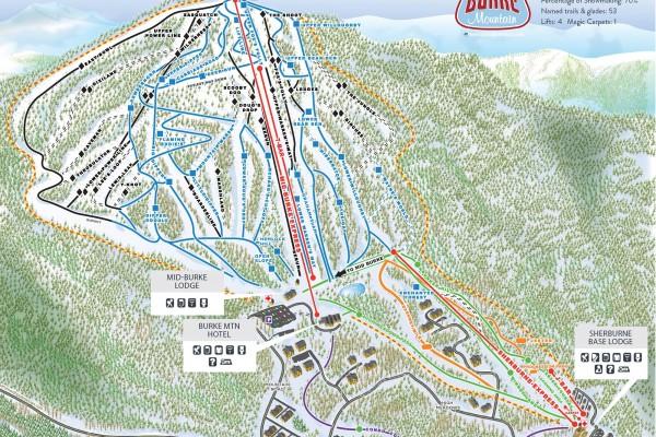2020-21 Burke Trail Map