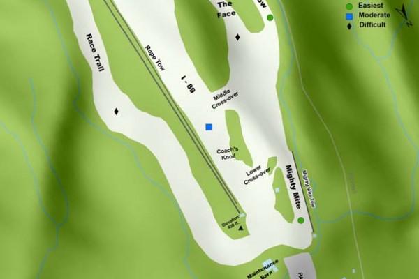 2016-17 Cochrans Trail Map