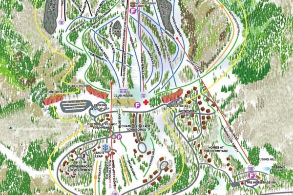 2020-21 Haystack Trail Map