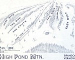 1969-70 High Pond Trail Map