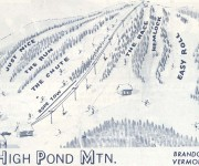 1970-71 High Pond Trail Map