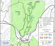 2016-17 Hogback Backcountry Trail Map