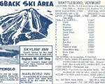 1964-65 Hogback Trail Map