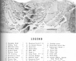 1962-63 Jay Peak Trail Map