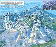 2001-02 Jay Peak trail map