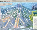 2012-13 Jay Peak trail map