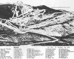 1962-63 Killington Trail Map
