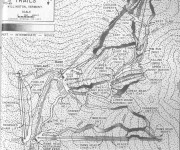 1963-64 Killington Trail Map