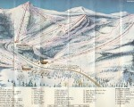 Killington circa 1965-66 trail map