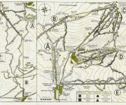 1969-70 Killington Trail Map