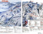 1991-92 Killington Trail Map